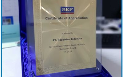 "Penghargaan untuk kategori ""Top Power Transmission Products Sales and Growth"" 2018"